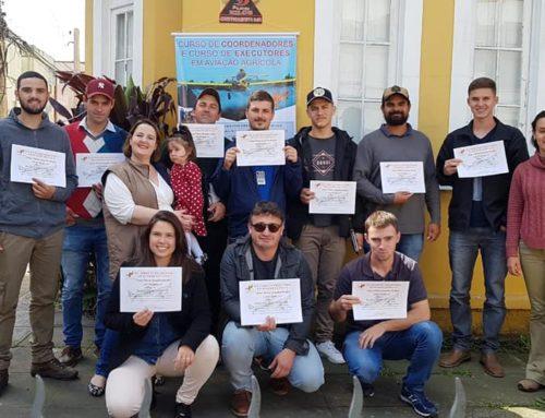 Schroder Consultoria Agro conclui o 16° Curso de Executores e o 7° Curso de Coordenadores em Aviação Agrícola em Pelotas.