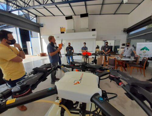 10ª turma de pilotos de drone agrícola no mercado